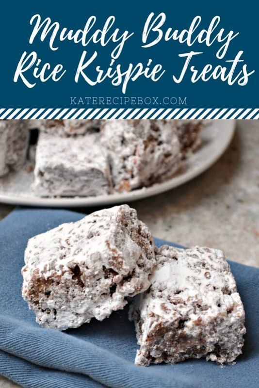 Muddy Buddy Rice Krispie Treats