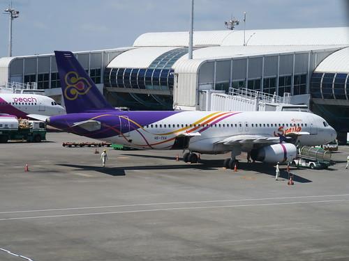 【2019再訪馬來西亞雙溪大年、檳城】泰國微笑航空