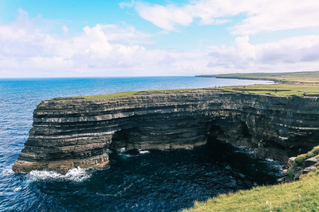 Downpatrick Head, Irlanda