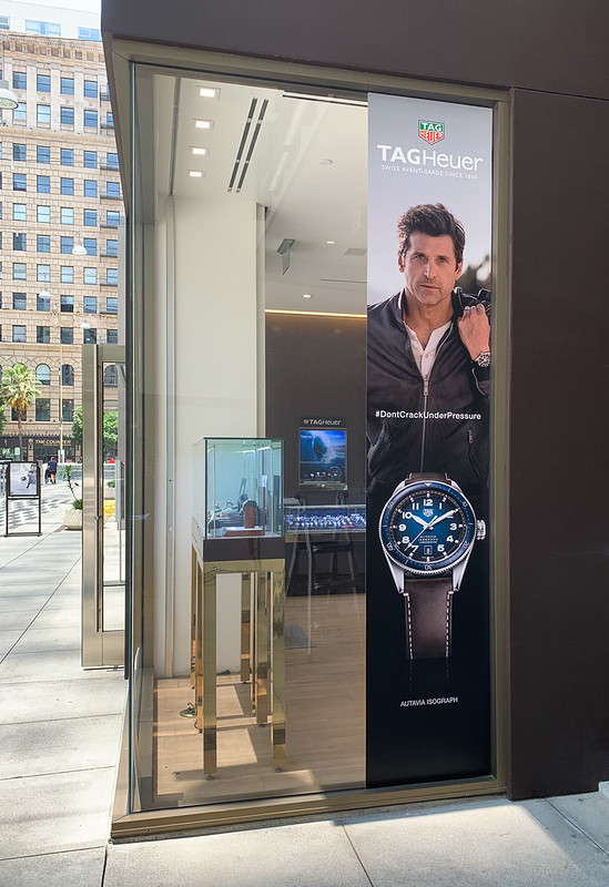 Signage for TAG Heuer Rollout