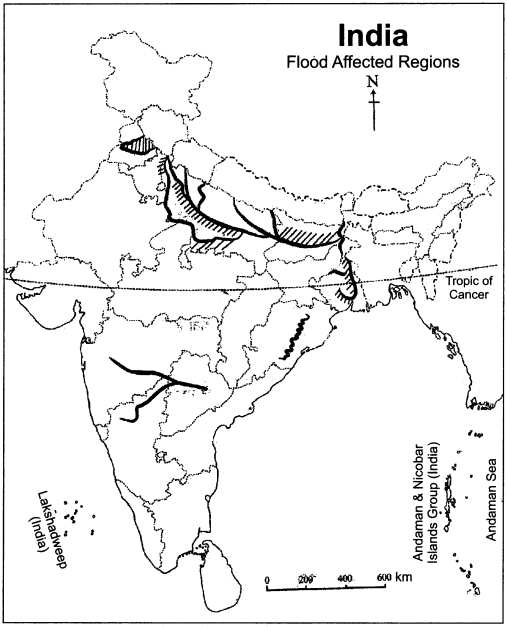 RBSE Solutions for Class 11 Indian Geography Chapter 11 Natural Disasters and Management (Flood, Drought and Sea Storm) 3