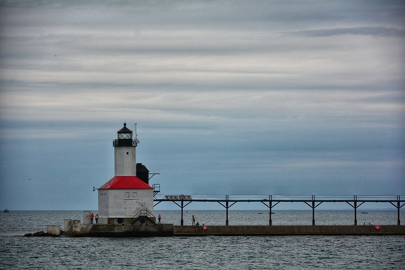 Indiana's only lighthouse