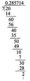 Tamilnadu Board Class 9 Maths Solutions Chapter 2 Real Numbers Ex 2.2 1