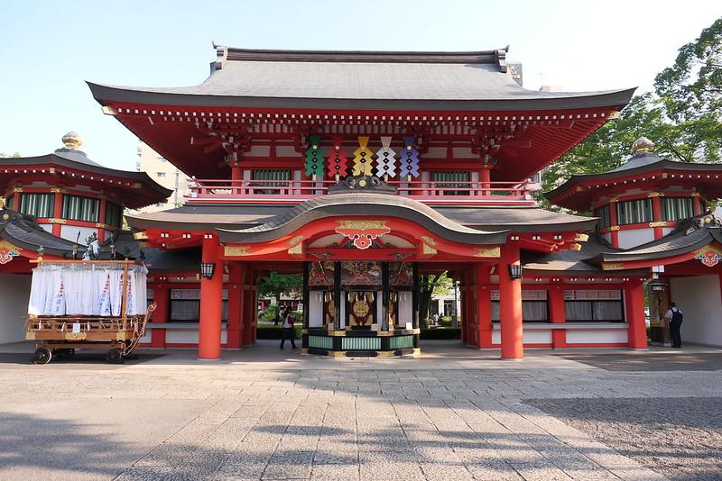 千葉神社 福徳殿