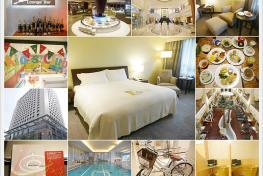 《台南住宿》大億麗緻酒店.設施齊全的台南五星飯店房間大早餐 ...