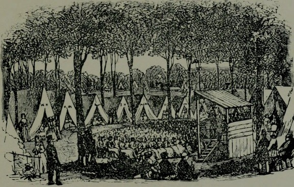Camp Meeting- Hathi Trust- from History of Methodism in North Carolina by W. L. Grissom