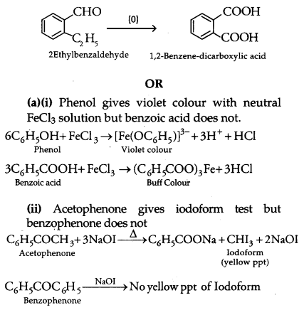 CBSE Previous Year Question Papers Class 12 Chemistry 2012 Delhi Set II Q30.1