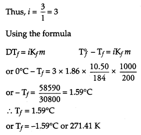 CBSE Previous Year Question Papers Class 12 Chemistry 2011 Delhi Set I Q28.3