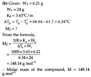 CBSE Previous Year Question Papers Class 12 Chemistry 2011 Delhi Set II Q28.2
