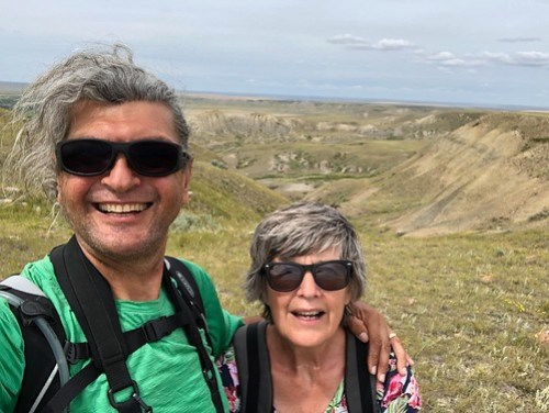 Grasslands National Park West Block - Selfe on the Butte