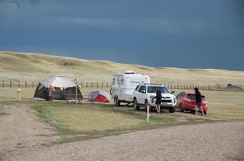 Grasslands National Park West Block - Campsite