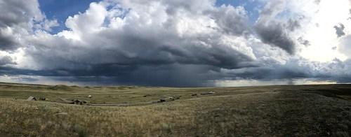 Grasslands National Park West Block - more drama