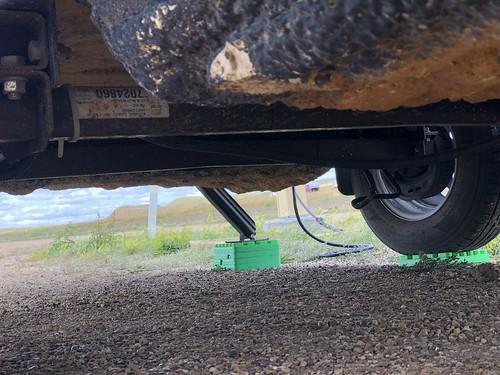 Grasslands East Block - brake cable ties broken