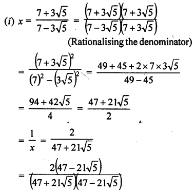 ML Aggarwal Class 9 Solutions for ICSE Maths Chapter 1 Rational and Irrational Numbers Chapter Test 16