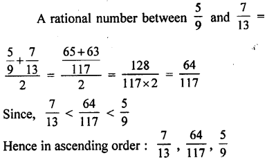 ML Aggarwal Class 9 Solutions for ICSE Maths Chapter 1 Rational and Irrational Numbers Chapter Test 3