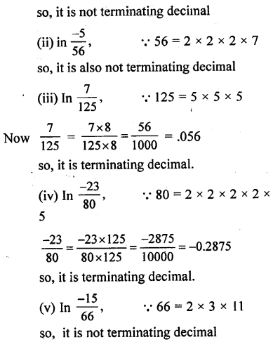 ML Aggarwal Class 9 Solutions for ICSE Maths Chapter 1 Rational and Irrational Numbers Chapter Test 2