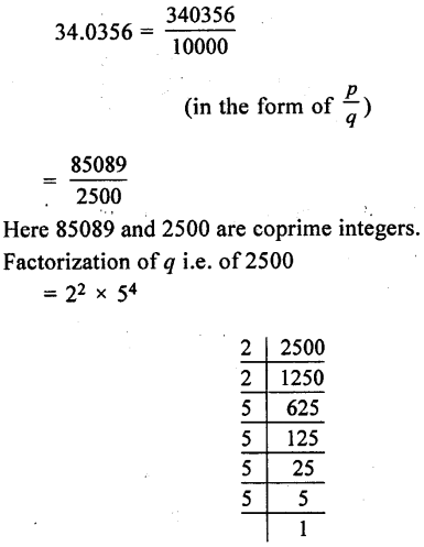 ML Aggarwal Class 9 Solutions for ICSE Maths Chapter 1 Rational and Irrational Numbers Chapter Test 25