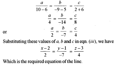 ISC Class 12 Maths Previous Year Question Papers Solved 2019 Q17.3