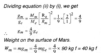 HSSlive Plus One Physics Notes Chapter 8 Gravitation 9