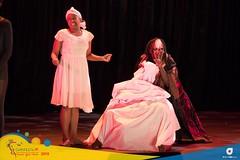 Scenes from Drama Night by the National Drama Company at CARIFESTA XIV.