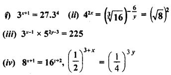 ML Aggarwal Class 9 Solutions for ICSE Maths Chapter 8 Indices Chapter Test 15
