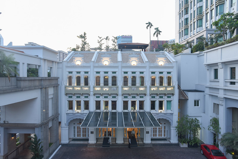intercontinental singapore facade