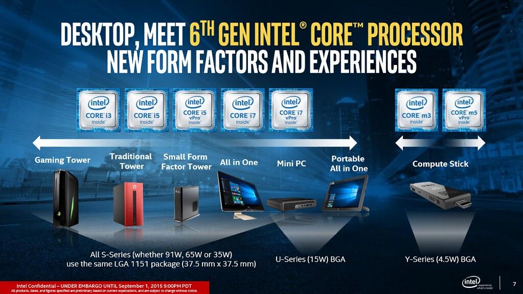 英特爾推出最新第6代Intel Core (酷睿) vPro處理器改造工作環境