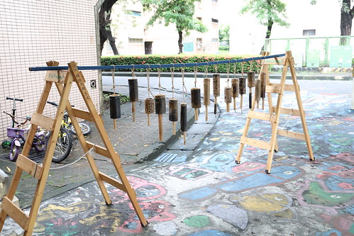 【小朋友木工課】幼兒園的「竹子風鈴一百組」任務