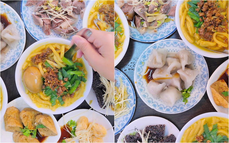 第二市場大麵焿水晶餃:台中在地60年大麵羹 手工水晶餃+大麵羹招牌必吃!還有很多豬雜小菜必點!