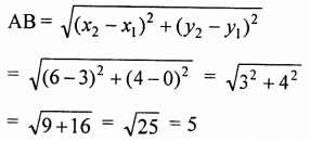 ML Aggarwal Class 9 Solutions for ICSE Maths Chapter 19 Coordinate Geometry Chapter Test 29