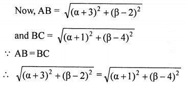 ML Aggarwal Class 9 Solutions for ICSE Maths Chapter 19 Coordinate Geometry Chapter Test 28