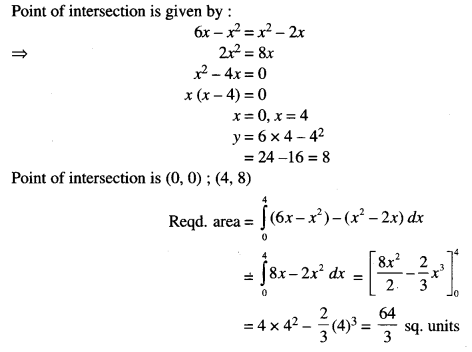 ISC Class 12 Maths Previous Year Question Papers Solved 2016 Q6.2