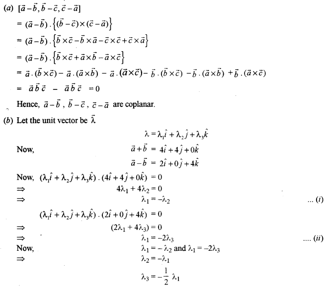 ISC Class 12 Maths Previous Year Question Papers Solved 2016 Q10