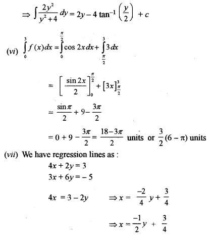 ISC Class 12 Maths Previous Year Question Papers Solved 2015 Q1.4