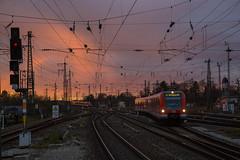 S-Bahn sunset