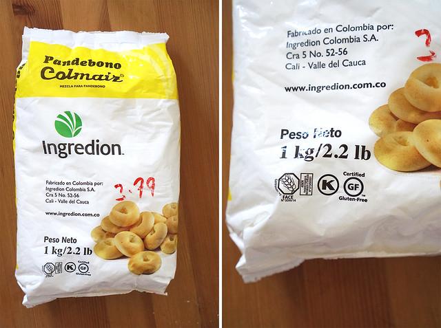 Ingredion Pan de bono flour blend