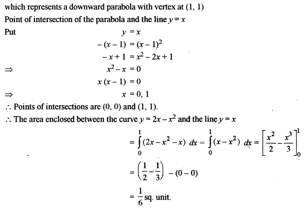 ISC Class 12 Maths Previous Year Question Papers Solved 2013 Q6.1