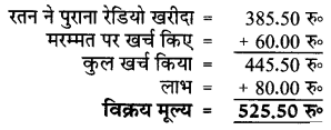UP Board Solutions for Class 5 Maths गिनतारा Chapter 10 लाभ – हानि