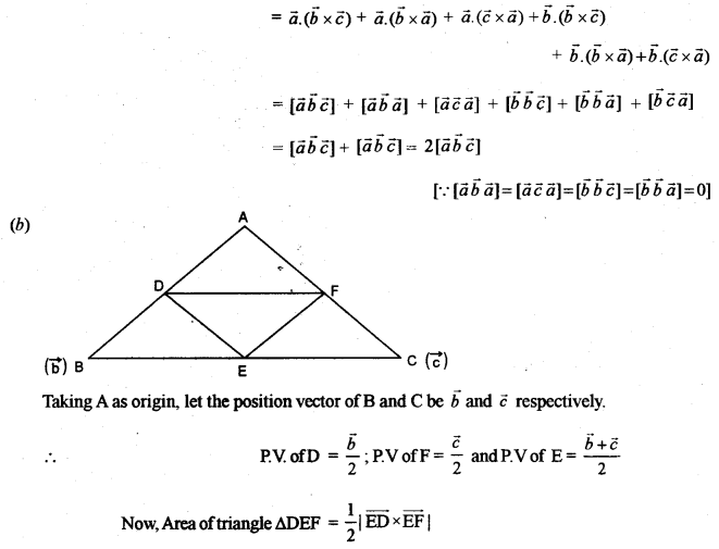 ISC Class 12 Maths Previous Year Question Papers Solved 2011 Q10.1