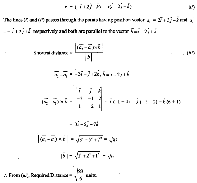 ISC Class 12 Maths Previous Year Question Papers Solved 2011 Q11
