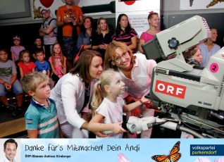 ÖVP Familiensommer 2019 - ORF backstage