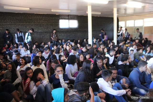 "CEF 01 recebe o projeto MADEB/FAC ""Africanidade nas escolas"" segunda temporada"