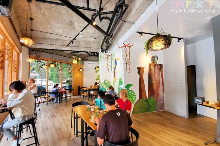 48634130503 8d3a532595 c - GO HOME食研室│店內熱帶雨林彩繪牆是網美必拍打卡點~食材吃的出用料新鮮!