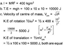 HSSlive Plus One Physics Chapter Wise Questions and Answers Chapter 7 Systems of Particles and Rotational Motion 23
