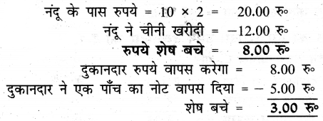 UP Board Solutions for Class 3 Maths गिनतारा Chapter 10 मनोज का हिसाब 11
