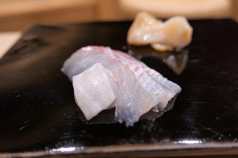 つぶ貝,ヒラメ
