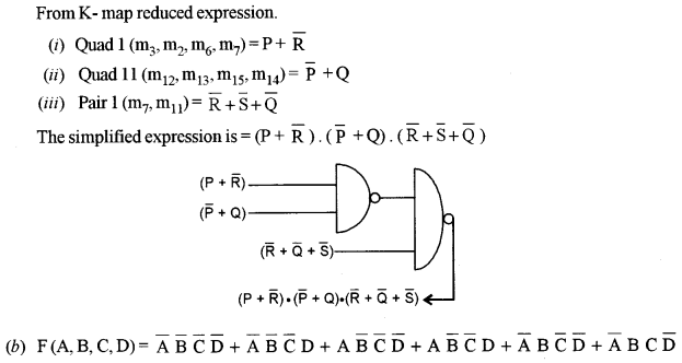 ISC Class 12 Computer Science Previous Year Question Papers Solved 2011 Q5.1