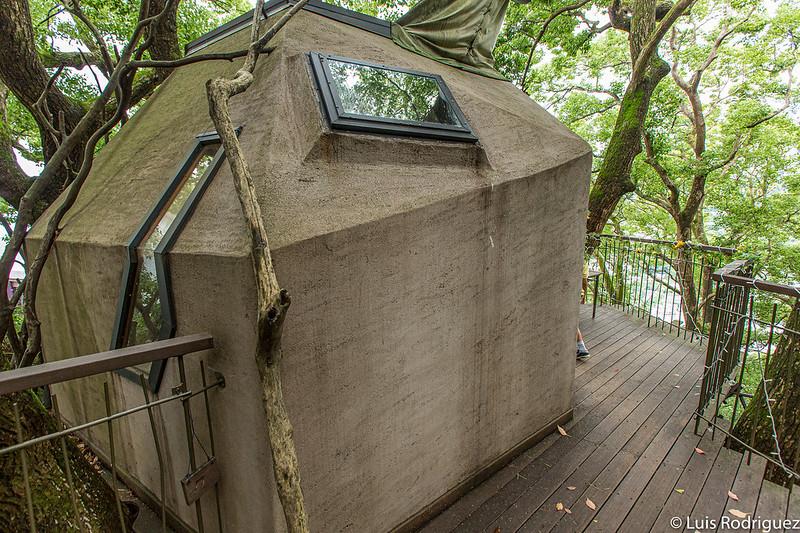 Cabaña en el árbol de Resonate Atami