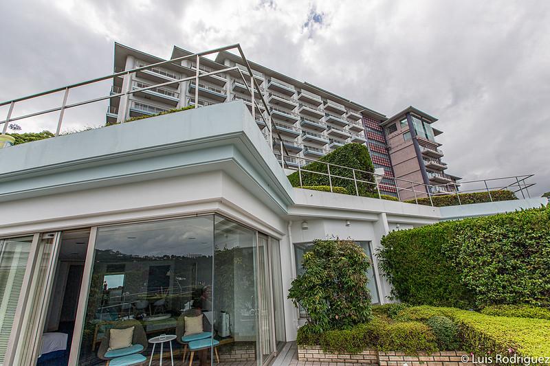 Résonner Atami, vu de notre terrasse