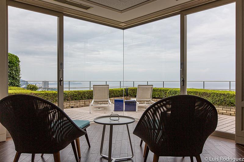 Chambres avec vue sur la baie